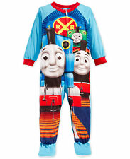 Thomas & Friends Toddler Boys' Footed Pajamas Blanket Sleeper Size 4T NWT
