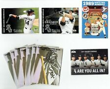 CHICAGO WHITE SOX ~ Large Lot of Pocket Schedules 1989-2011
