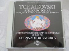 Tchaikovski Snegourotchka - Guennadi Provatorov - Melodia USSR CD no ifpi