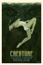 Creature from the Black Lagoon (Variant) Screenprinted Poster 2019 #/125 Mondo