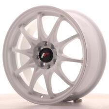 Japan Racing JR5 16x7 ET30 4x100 4x108 White SET 4 cerchi in lega 4 wheels