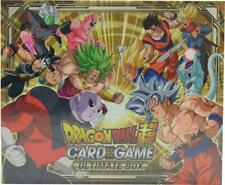 DRAGON BALL SUPER TCG ULTIMATE BOX  5 SPECIAL FOIL LEADER CARDS SEALED NEW