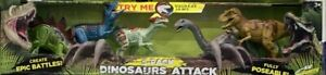 Kids Galaxy Dinosaur set 5 pack with lights and sounds