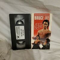 BRUCE LEE -- JEET KUNE DO (VHS TAPE) MARTIAL ARTS INSTRUCTION HTF Rare Training