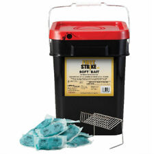 First Strike Soft Bait 40g Rodenticide Rat Bait Mouse Bait with 5 SSTs (16 Lbs)