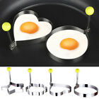 Cooking Kitchen Tool Stainless Steel Fried Egg Shaper Ring Pancake Mould Mold HU