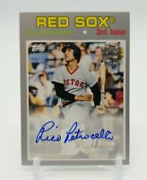 2018 Topps Archives RICO PETROCELLI Fan Favorites Certified Auto Silver 59/99
