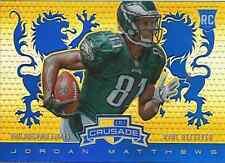 Jordan Matthews 2014 Panini Rookies & Stars insert blue Crusade RC card
