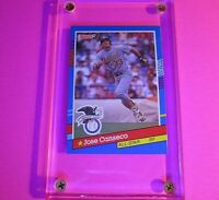 JOSE CANSECO 1991 Donruss #50 (Double ERROR CARD) Oakland A's AS MINT