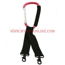 STAND HOOK CARABINEER WITH STRAPS FOR JDSU DSAM, VeeX, TRILITHIC or any meters