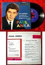 EP Paul Anka: i 'm watching + 3 (RCA Victor 86 339 M) F 1963