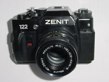 ZENIT 122 35mm Film SLR Manual Camera with 58mm F/2 Helios 44M-6 MC Lens * Ex++
