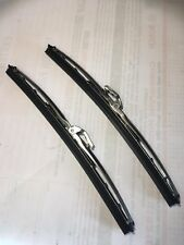 BENTLEY SERIES 2 AND 3 1959 - 1965  WIPER BLADES - BRIGHT ALLOY PAIR (AB285)
