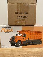 B-61 Mack CP Ward Dump Truck Diecast 1/34 First Gear 19-1827 96 Toy Show!!