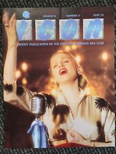 Madonna Icon Magazine 23. FANZINE. USA FANCLUB. MINT. 1996. EVITA Era