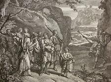 RICHARD VAN ORLEY, GEFANGENNAHME AMARILLIS; AMARILLI; PASTOR FIDO; GUARINI ~1700