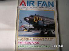 **b Air Fan n°43 Argonia : Remermber D Day / Des pilotes des victoires