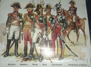 Historex Maréchaux d'Empire français (lot of 5)French-Empire Marshals(1753-1851)