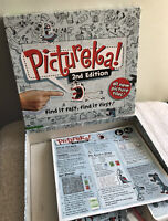 Pictureka Board Game 2nd Edition Hasbro Excellent Condition 100% complete S1