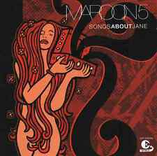 Maroon 5-songs about jane-CD nuevo-She will be loved-harder to breathe