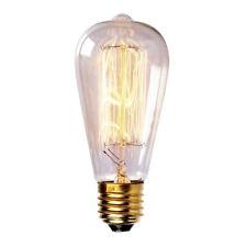 E26/E27 40W Vintage Retro Filamento Incandescente Lámpara Bombilla Edison Tungsteno