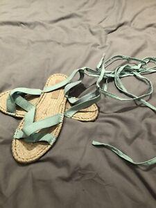 Brand New Asos Espadrille Sandals Ladies Size 10