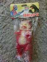 B-CLUB SOFUBI GARAMON RED Ultra Q Bull Mark Figure BANDAI