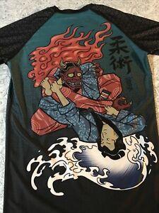 Tatami Bjj Rashguard Devils Triangle Mma Jiu Jitsu Compression Shirt Mens XXL