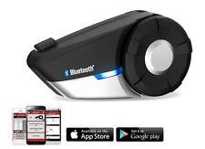 SENA 20S Bluetooth Headset/Intercom w/ FM Radio for Motorcycle Helmet, Single