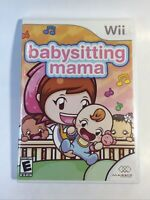 Babysitting Mama (Nintendo Wii, 2010) complete tested works