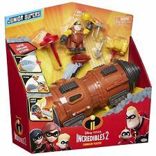 Disney Pixar THE INCREDIBLES 2 Junior Supers TUNNELER Toy Vehicle Playset