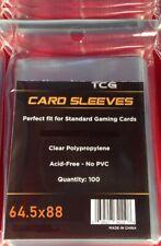 100 TCG Soft MTG Magic the Gathering/Pokemon/Penny Sleeves 64.5 x 88mm