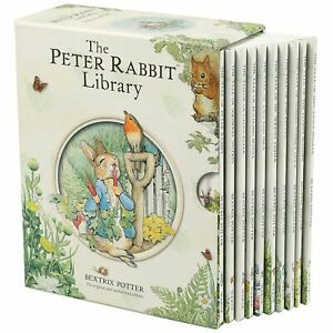 The Peter Rabbit Library by Beatrix Potter 10 book set (Hardcover) FREE ship $35