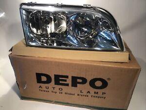 Depo Volvo Replacement Headlight S40 V40 RH 373-1105R-AS