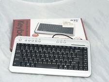 ***Vintage BTC Multimedia Ultra Slim Keyboard Mdl 6100***