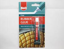 B&q clair caoutchouc colle-réparation de chaussures, bottes, inner tubes, pneumatiques, jouets, etc