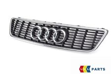 NEW GENUINE AUDI A3 S3 97-03 FRONT CENTER GRILL ASSEMBLY BLACK 8L9853651 3FZ