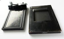 Polaroid 545 Linhof Reduzierkassette 13x18 5x7 zu 4x5, Adapter, Reduziereinschub