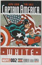 MARVEL COMICS CAPTAIN AMERICA WHITE #2 NOVEMBER 2015 1ST PRINT NM