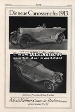 Alexis Kellner Carossier Automarken Modelle Wagen Werbung Motor Original 037