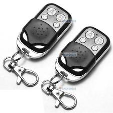 2 x Universal Cloning Remote Control Key Fob for Car Garage Door 433mhz F#