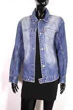 T13-11 Levis Enigneered Unisex Jeans Jacke Denim Jacket blau (Girls M) (Boys S)