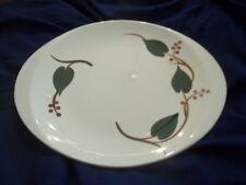 Vintage Stanhome Ivy Blue Ridge  Large Oval Platter
