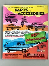 Vintage J.C. Whitney Automotive Parts and Accessories Catalog 1977 Car Truck