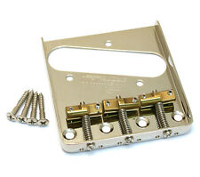 Wilkinson Nickel Compensated Brass 3-Saddle Bridge for Fender Tele® TB-5129-001