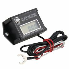 HOT SELL Waterproof Tiny Tach Digital Hour Meter Tachometer Resettable Job Timer
