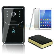 Wireless WiFi Video Door Phone IR Rainproof Camera Intercom Doorbell Motion