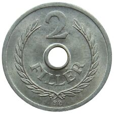 (R16) - Ungarn Hungary - 2 Filler - 1962 - Kursmünze - Al - UNC - KM# 546
