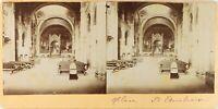 ITALIE Milan Église Saint-Ambroise, Photo Stereo Vintage Citrate PL61L11116