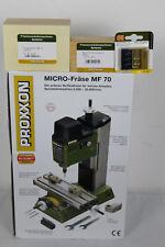 Proxxon mf70 27110 micro fraise + Proxxon 24264 Teilapparat +24260+27116